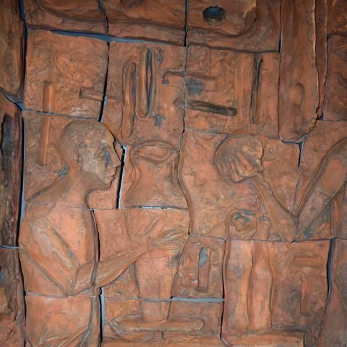 La Nascita della Ceramica – Svelata l'opera restaurata di Agenore Fabbri