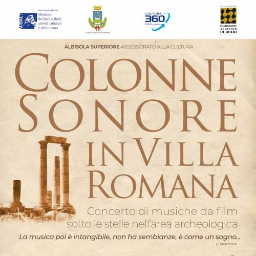 Venerdì 7 Agosto – Colonne sonore in Villa Romana
